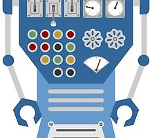 Scuba Diver Robot by pounddesigns
