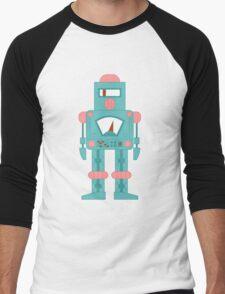 Siren Robot Men's Baseball ¾ T-Shirt