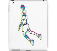 Michael Jordan retro 80's tribute artwork iPad Case/Skin
