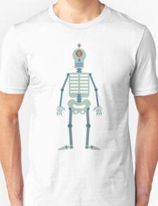 Skeleton Robot Unisex T-Shirt