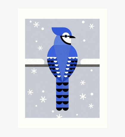 J is for Jay Art Print