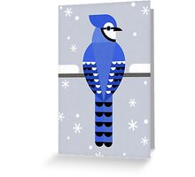 J is for Jay Greeting Card