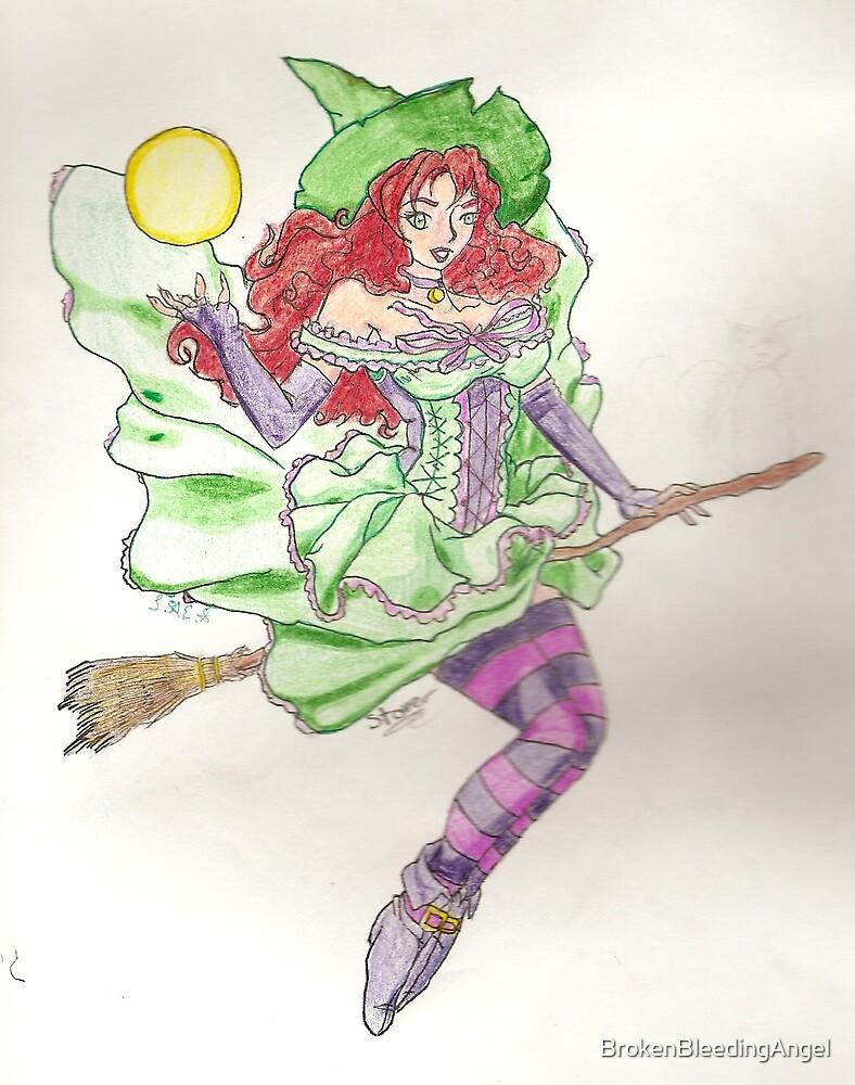 Witch by BrokenBleedingAngel