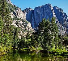 View from the Swinging Bridge, Yosemite National Park, California, USA by TonyCrehan