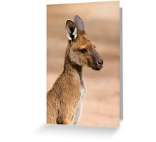 Roo Portrait Greeting Card