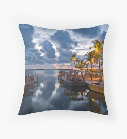 Isla Morada Throw Pillow