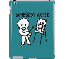 Bob Ross Somebody Arted iPad Case/Skin