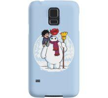 Inflatable Snowman Samsung Galaxy Case/Skin