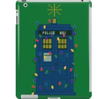 Happy Christmas from the TARDIS iPad Case/Skin