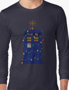 Happy Christmas from the TARDIS Long Sleeve T-Shirt