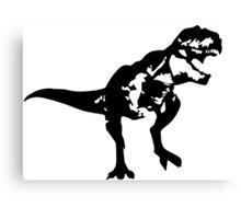 Shadow T-Rex Canvas Print