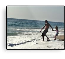 Daddy dont let go! Metal Print