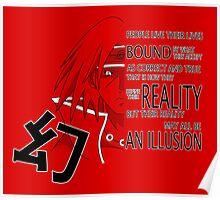 Itachi's Magenkyou Poster