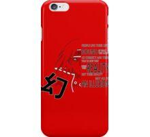 Itachi's Magenkyou iPhone Case/Skin
