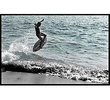 Your going to fall hard in life, it takes courage to get back up and try again. Photographic Print