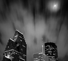 Houston di Notte by Michael Mancini
