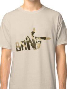 Cowboy Bebop Bang Logo Classic T-Shirt