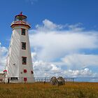 Lighthouse - North Cape by Tim Yuan