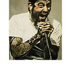 Chino Moreno by Kevin J Cooper