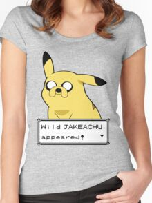 Jakeachu Women's Fitted Scoop T-Shirt