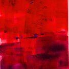 Red purple blue magenta No 42 by Susan Grissom