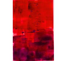 Red purple blue magenta No 42 Photographic Print