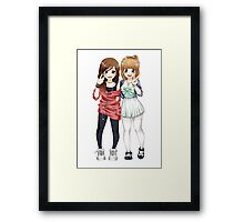 Ale e Cucca - Full body Framed Print