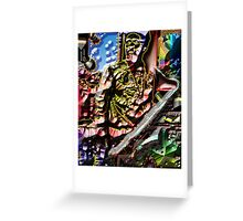 PHAROAH SANDERS/Look to the HILLS, from whence... Greeting Card