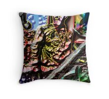 PHAROAH SANDERS/Look to the HILLS, from whence... Throw Pillow