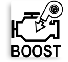 Boost Engine Canvas Print
