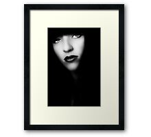 Doll Face Framed Print