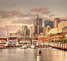 Darling Harbour   Sydney by Warren. A. Williams