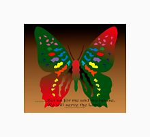 Butterfly with Bible Verse Unisex T-Shirt