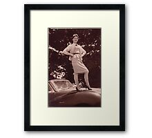 Memories of the Fifties A 90 #2 Framed Print