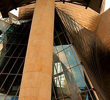 Guggenheim - Bilbao #3 by Tom Clark