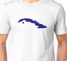 Cuba map Unisex T-Shirt