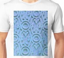 CARVED TURQUOISE SMARTPHONE CASE (Textures) Unisex T-Shirt