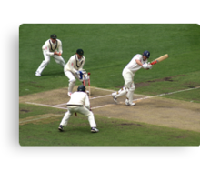 MCG Boxing Day 2006 ~ Shane Warne's 700th Test Wicket Canvas Print