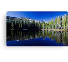 Mirror Pond Canvas Print