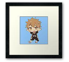 Shoyo Hinata Chibi Framed Print