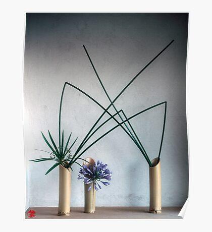 Ikebana-002 Poster