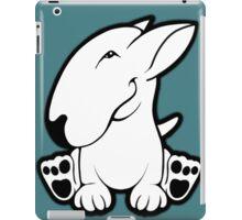 Side Sit English Bull Terrier  iPad Case/Skin