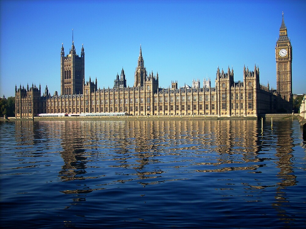 THE HOUSES OF PARLIAMENT and LORDS by viggario