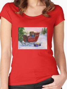 Sleigh Women's Fitted Scoop T-Shirt