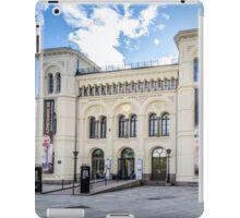 Oslo, Nobel Peace Center. iPad Case/Skin