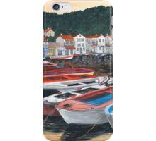 Sunrise in Paxos iPhone Case/Skin