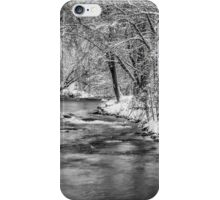 Winter On The Waupaca River iPhone Case/Skin