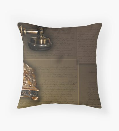 Faded Love Throw Pillow