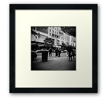 the Cops Framed Print