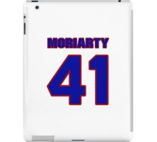 National football player Tom Moriarty jersey 41 iPad Case/Skin